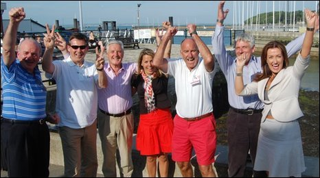 Jersey's Island Games bid committee