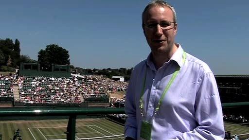 Jonathan Overend, BBC Radio 5 live's Tennis Correspondent