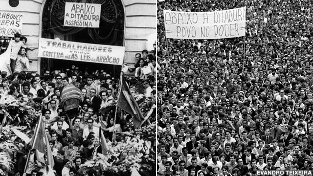 Manifestações de rua em 1968