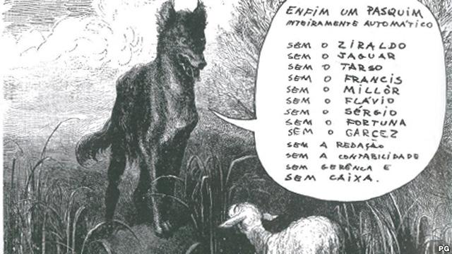 Capa do jornal O Pasquim