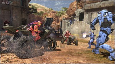 Watch Halo 3 in action. This title is likely to be a 16+ game.