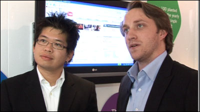 YouTube founders Steve Chen and Chad Hurley tell the BBC about the video site's new direction.