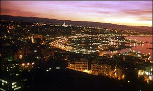 Sunset over Algiers