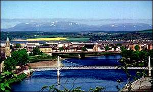 Inverness: copyright Joanne Mackenzie-Winters