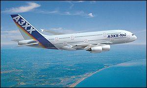 Airbus A380 design concept