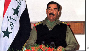 Saddam Hussein insists that the Gulf War was a victory for Iraq