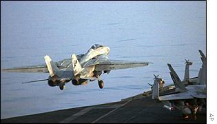 USAF F18 fighter