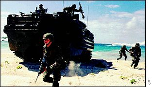 US military exercise on Vieques