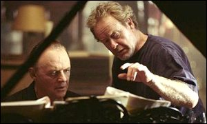 Sir Ridley Scott and Sir Anthony Hopkins