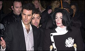 Uri Geller and Michael Jackson
