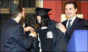 Rabbi Shmuley Boteach, Michael Jackson and Oxford Union president Nick Mason
