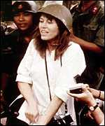 Jane Fonda in Hanoi in 1972