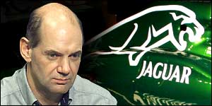 Jaguar are battling to prise Newey from McLaren