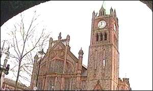 Guildhall in Londonderry