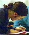 Exam pupil