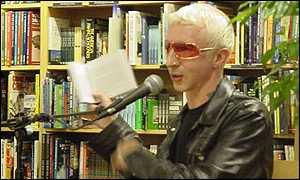 Marc Almond reading at Border's Bookshop