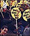 Anti-Nazi protestors