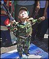 Palestinian child demonstrator