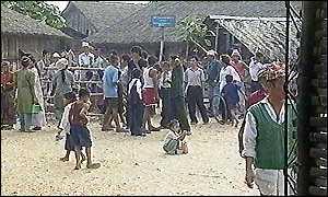 UN camp in Nepal