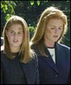 Sarah Ferguson and daughter Beatrice
