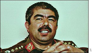 General Rashid Dostum at the height of his power in 1997