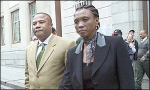 Tony Yengeni and his wife Lumka  (Pic: Sunday Times of South Africa)