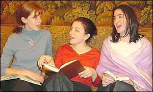 Jessica Moore, Jessica Russak and Judith Kaplan