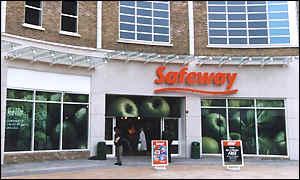 Safeway supermarket in Wimbledon