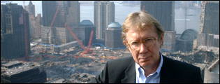 Peter Taylor at Ground Zero, New York