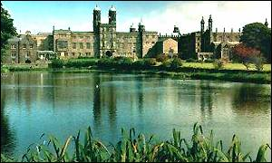 Stonyhurst College, where Tolkien wrote the draft of Lord of the Rings