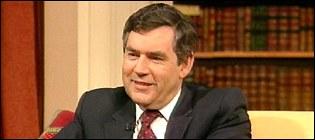 UK Chancellor of the Exchequer, Gordon Brown MP