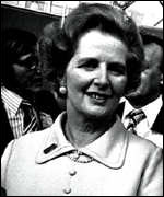 Margaret Thatcher 1977