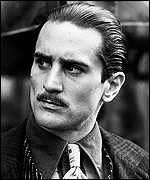 De Niro was the young Vito in The Godfather, Part II