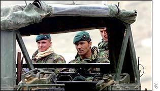 British Royal Marines in Afghanistan