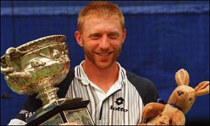 Boris Becker won the championship twice during the 1990s