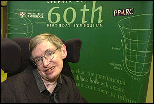 Professor Stephen Hawking, AP