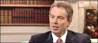 The Prime Minister Tony Blair