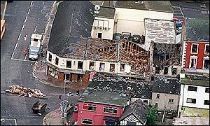 Omagh bomb street scene