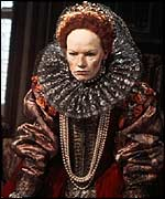 Glenda Jackson as Queen Elizabeth I