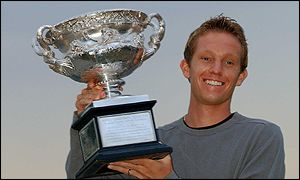 Australian Open winner Thomas Johansson