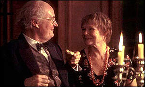 Jim Broadbent and Dame Judi Dench