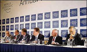 WEF forum panel