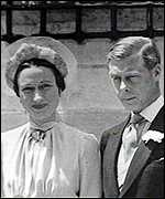 Wallis Simpson and the ex-King