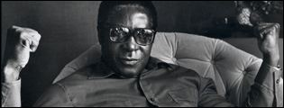 Robert Mugabe - photo by Judah Passow, 1979