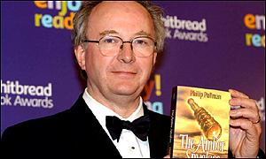 Pullman was the first children's author to win the Whitbread Prize