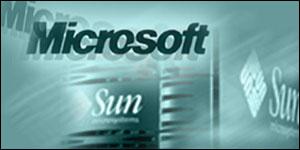 Microsoft/Sun logos