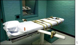 Lethal injection chamber in Texas