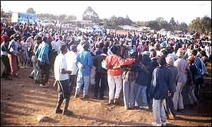 A Mungiki gathering