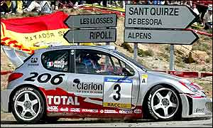 Panizzi on his way to his second consecutive rally win