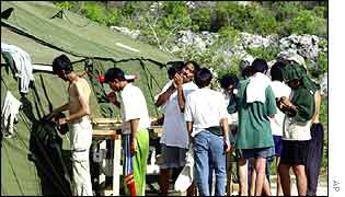 Detention centre in Nauru